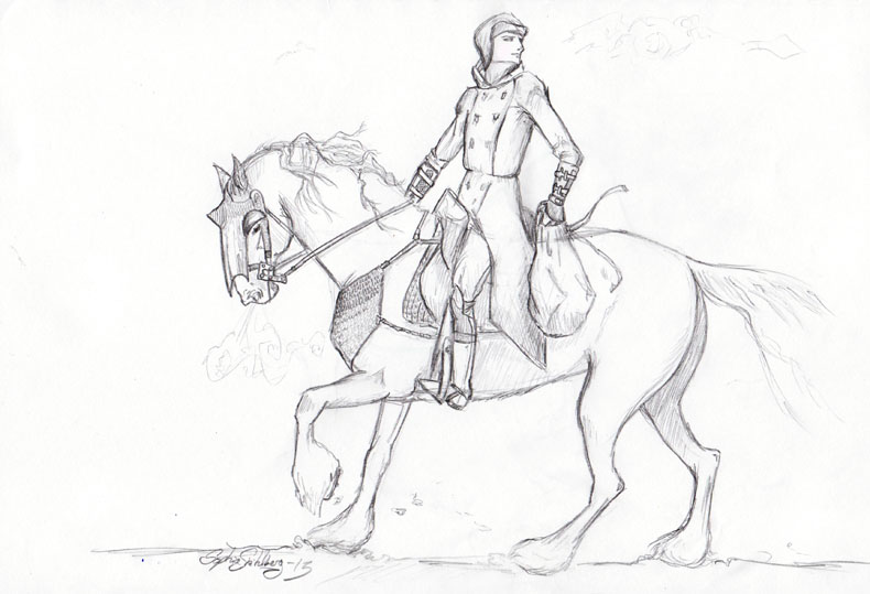 Horse and rider by sopheija on deviantart horse and rider by sopheija ccuart Gallery