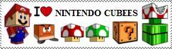 I Love Nintendo Cubees by Sukorodo
