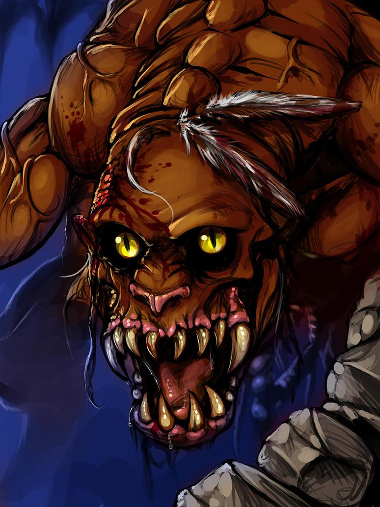 A Nightmare Demon by ZKROX