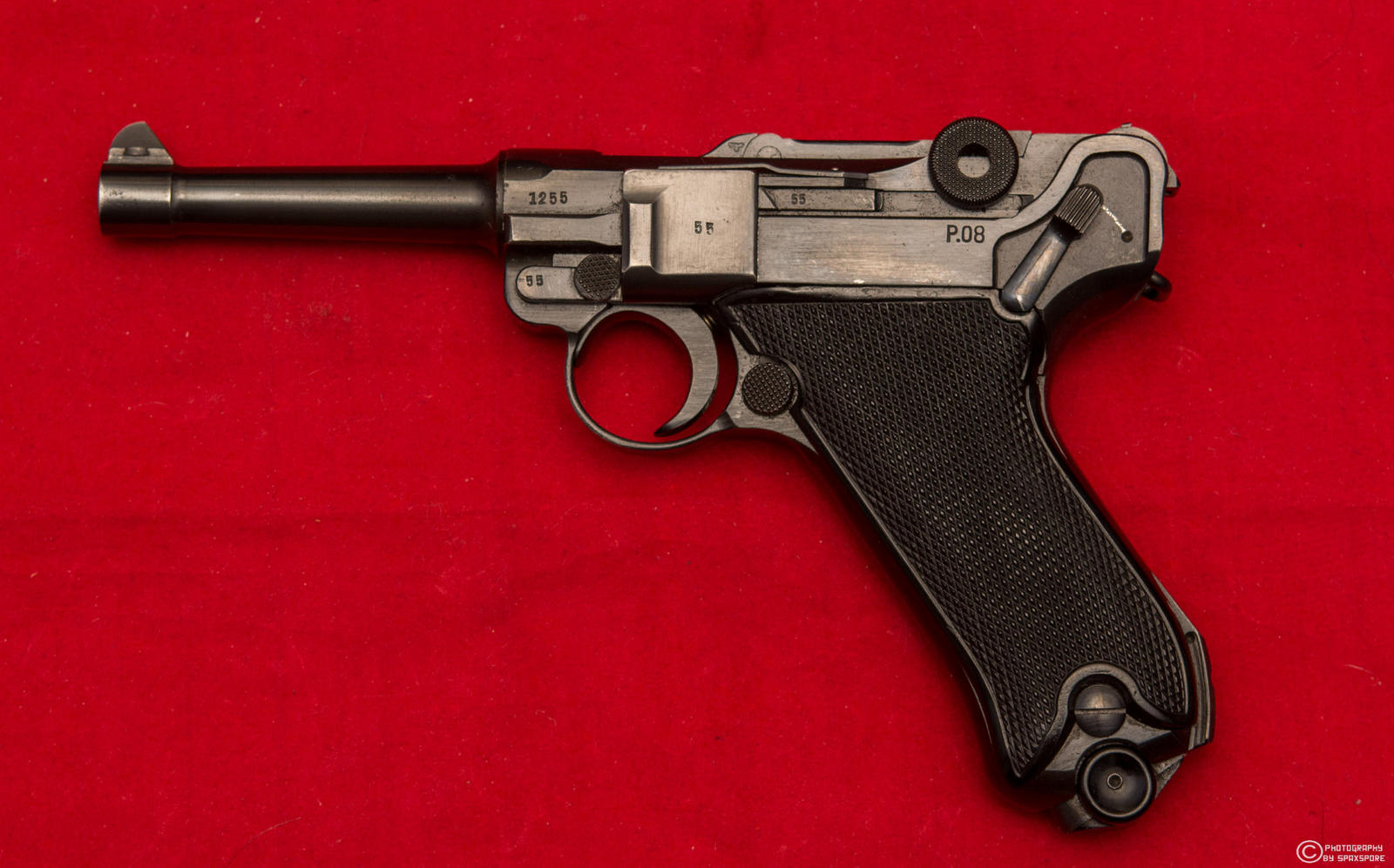 1941 BYF Police Contract *Black Widow* Luger by spaxspore