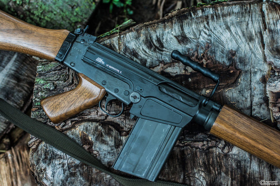 IMBEL FN FAL Profile by spaxspore on DeviantArt