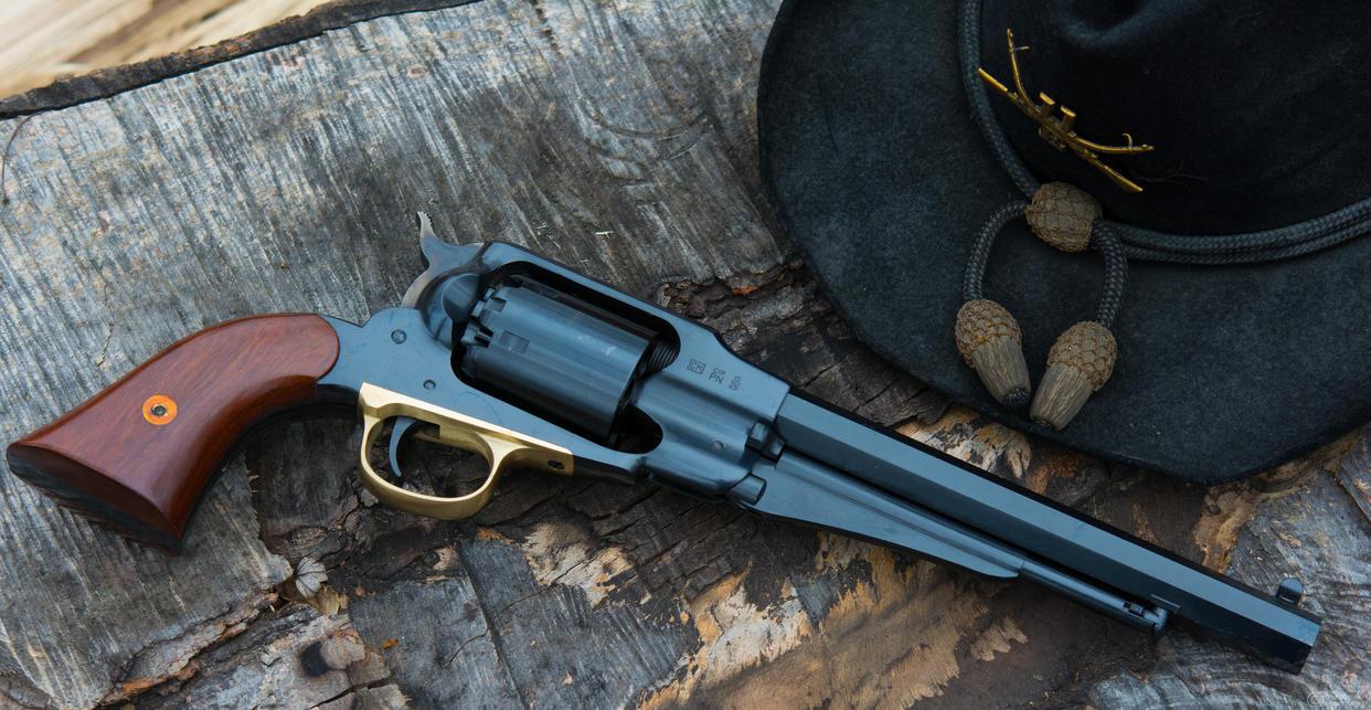 Remington New Army - AKA 1858 - Civil War Replica by spaxspore
