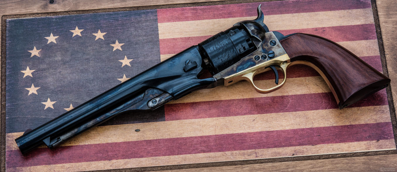 For the Stars and Stripes - 1860 Army Revolver by spaxspore