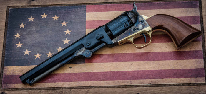 For the Stars and Stripes - 1851 Navy Revolver