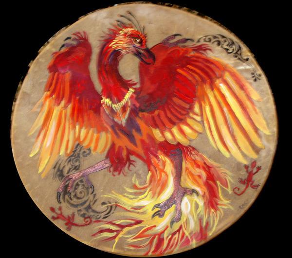 Pheonix Drum by Shadowind