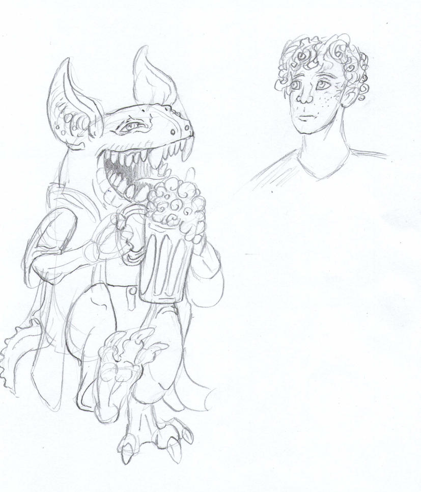 Aahz sketch2 by Shadowind