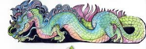 Dragon Bookmark by Shadowind