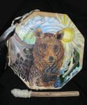 Bear Element Drum by Shadowind