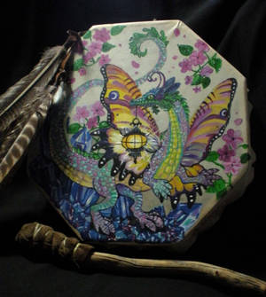 Faery Dragon Drum