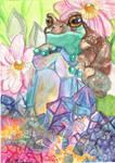 Magical Milk Frog by Shadowind