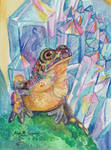 Rainbow Geode Toad by Shadowind