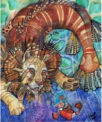 Lionfish tamer