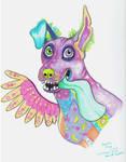 Inktober #4 Fan art of Dante- from Pixar's CoCo