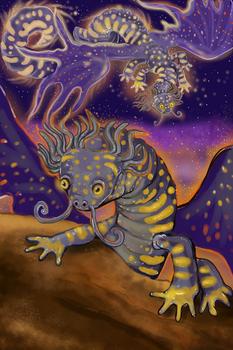 Pyro the Salamander