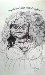 Aughra Dark Crystal: Age of Resistance Inktober #2