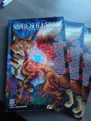 Cover Illustration for Oneshi Press anthology #09