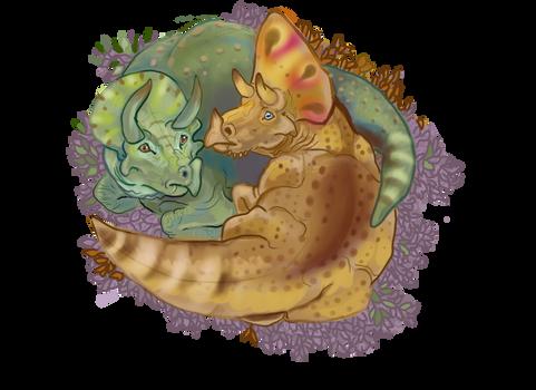 Triceratops Snuggles 2.0