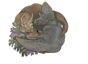 Triceratops Snuggles 3.0