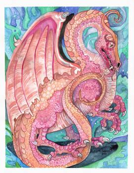 Lunarian Flight of Dragons Fan Art