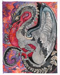 Bryagh Flight of Dragons FanArt