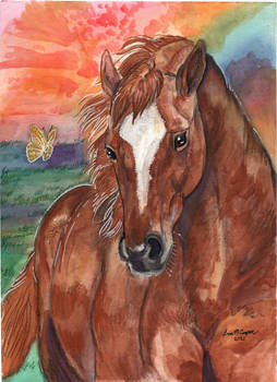 Zippy Memorial Portrait Painting