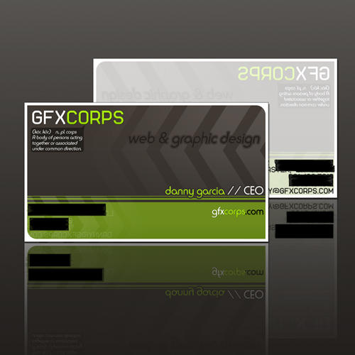 GFXCORPS.com Business Card by D-Garcia