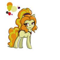 Adagio Dazzle (In pony form) by Lollipop-Art