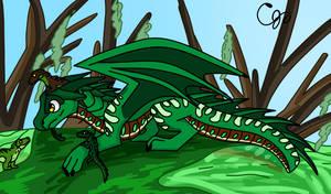 Crocodile the seawing