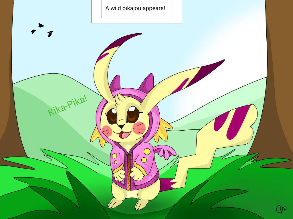 A wild pikajou appears! (wof parody)