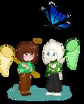 Talltale: Wow, butterflies get huge in heaven...