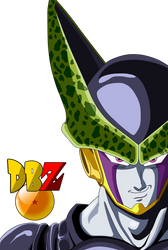 Dbz Cell Drawing Colored