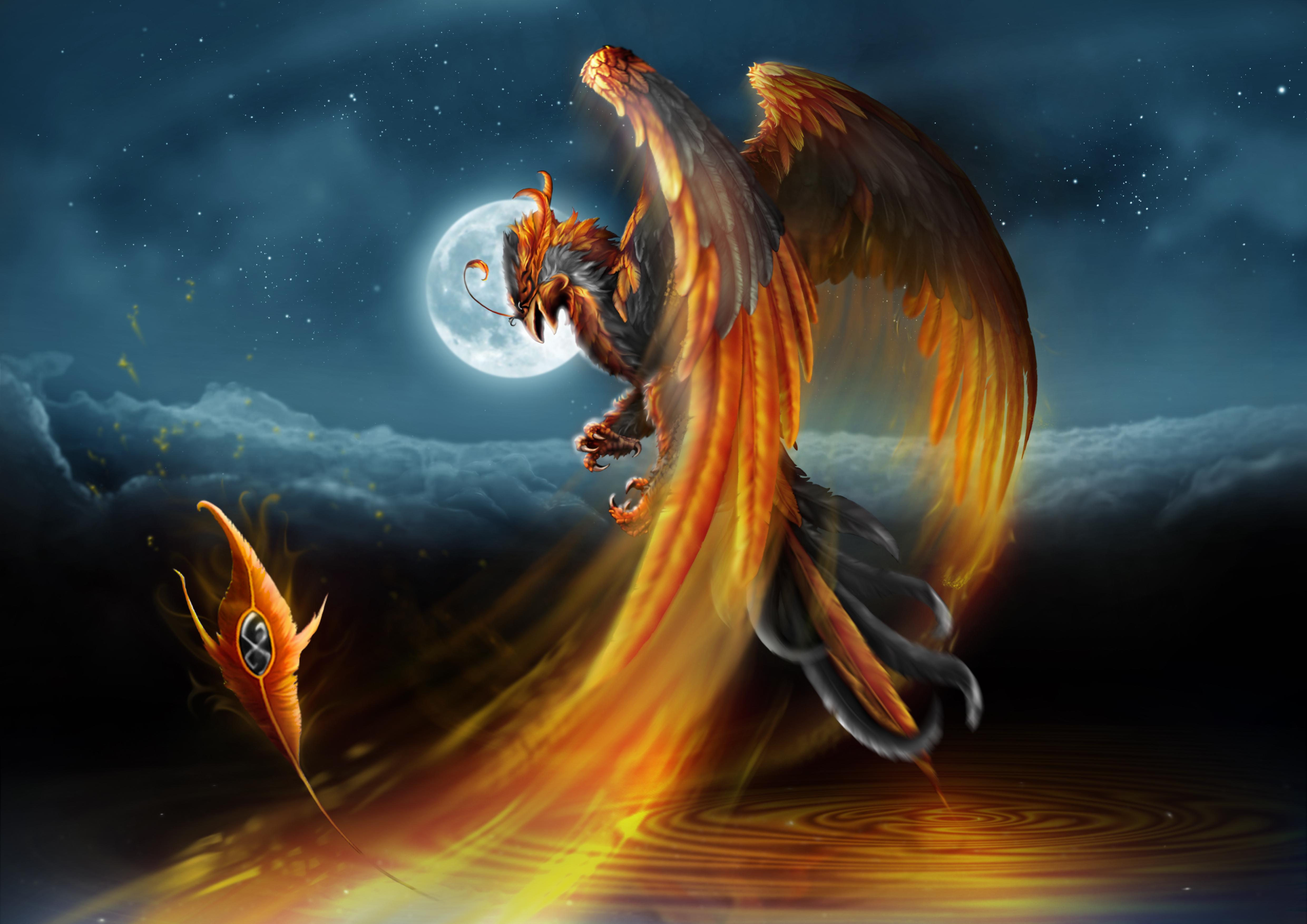 Painting Art Phoenix Fire Fantasy Digital Drawing: Phoenix By Guillaume-phoenix On DeviantArt