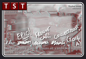 The Epic Freight Car Collection 2016 (Trainz 09+) by thejonateers