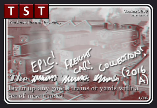 The Epic Freight Car Collection 2016 (Trainz 09+)