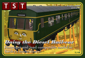 Daisy the Diesel Rail-car RELEASED by thejonateers