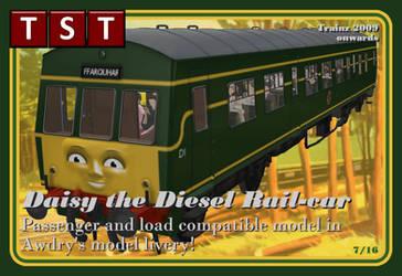 Daisy the Diesel Rail-car RELEASED