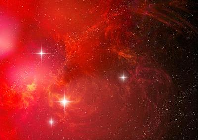 space nebula red - photo #8