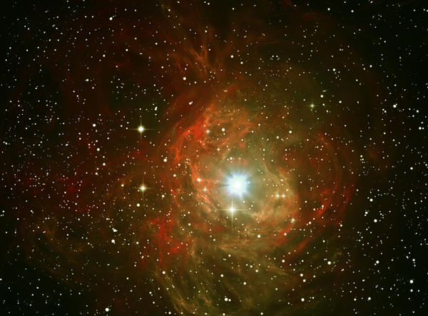 Red space nebula-explosion by PJuric on DeviantArt