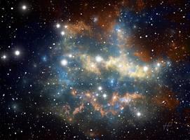 Space star nebula by PJuric
