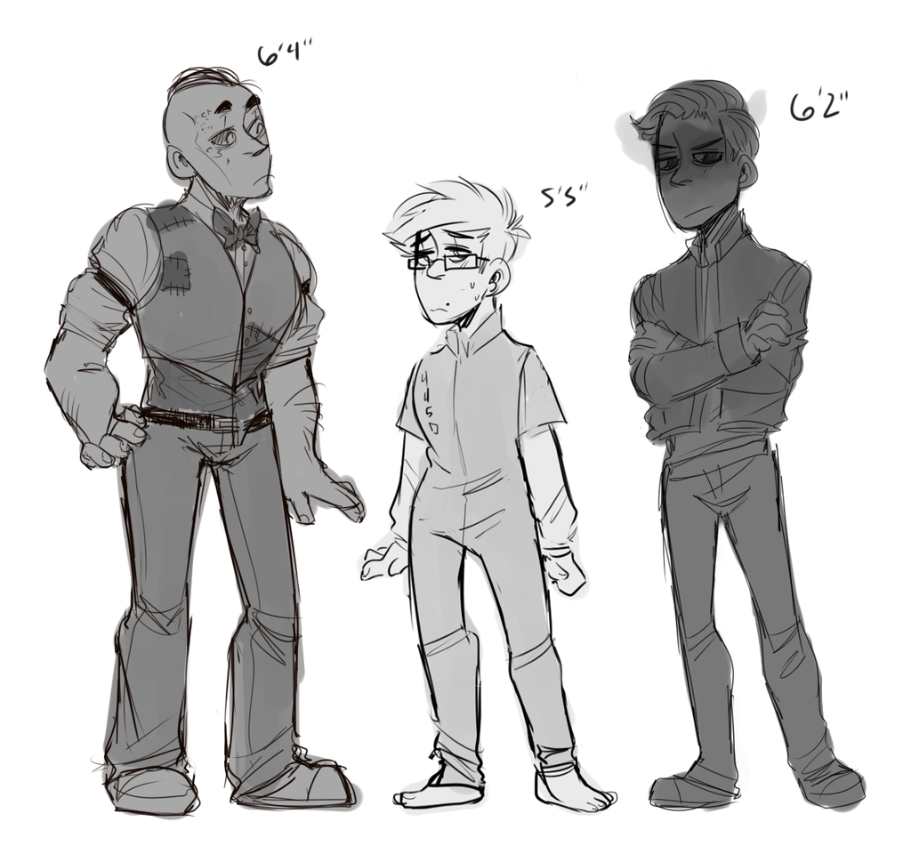Outlast Height Chart By DonitKitt On DeviantArt