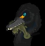 Halszkaraptor Portrait