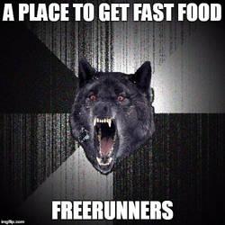 Insanity Wolf - Freerunners