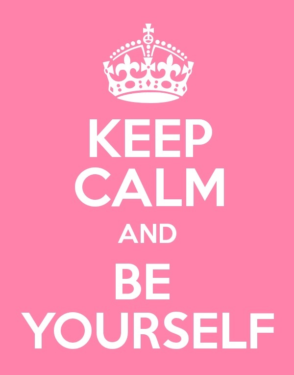 Keep Calm And be Yourself Wallpaper Keep Calm And be Yourself by