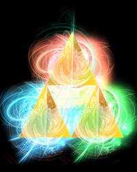 Pseudo-3D Triforce