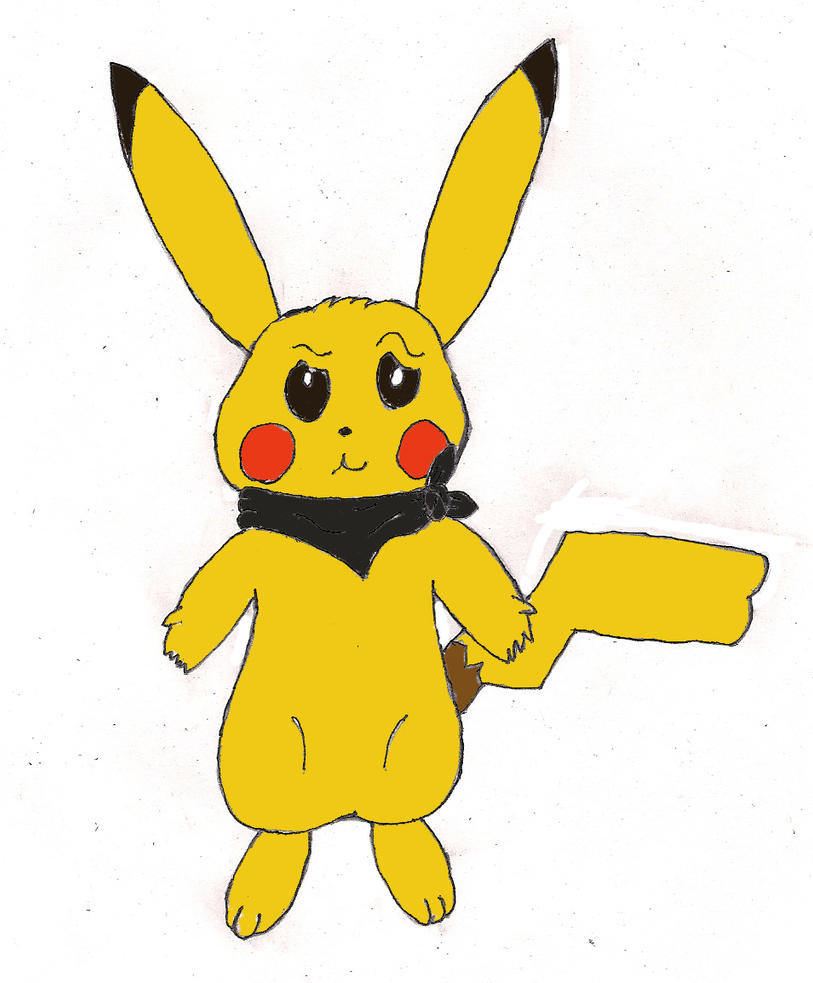 Kay the Pikachu by unownace