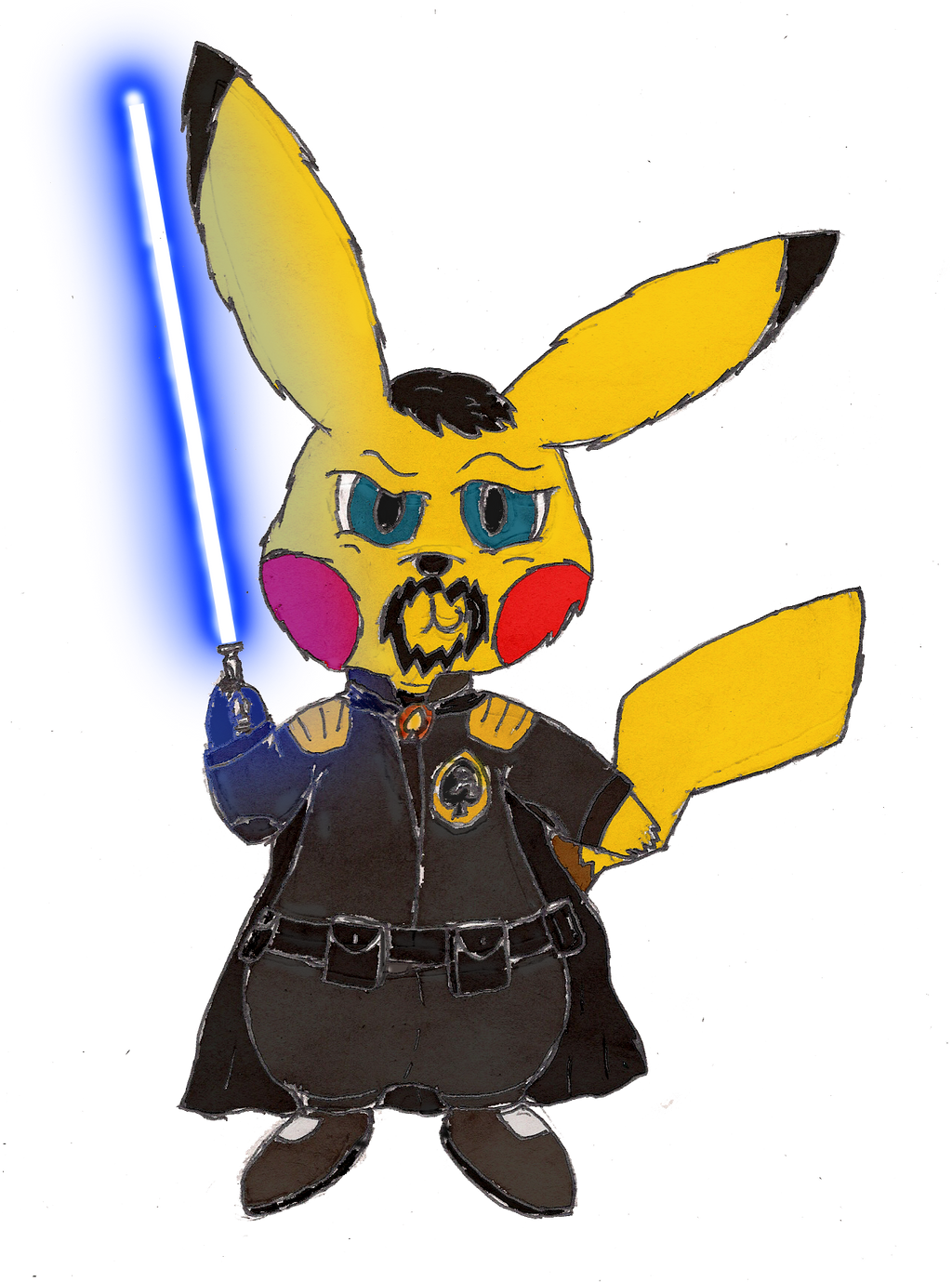 Star Warrior of the Knights of Spade