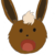 Ginger the Eevee 'Noes' (Usable Emoticon)