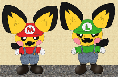 Pichu Mario Brothers (Contest Entry)