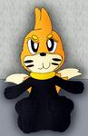 A Buizel in a Wet Suit