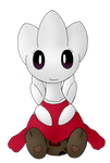 A Togetic's Fancy Red Dress